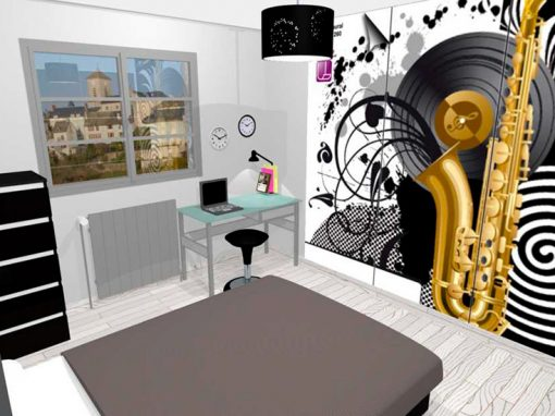 Chambre d'ado – Bourg Achard (27)