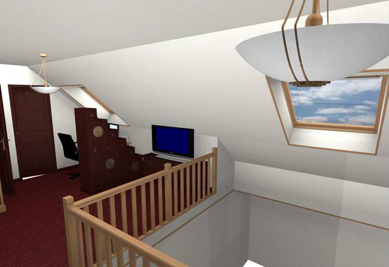 mezzanine pour un particulier la saussaye idbe. Black Bedroom Furniture Sets. Home Design Ideas